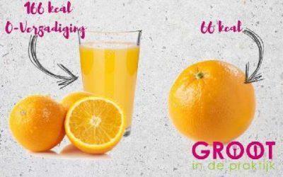 Sinaasappelsap gezond?
